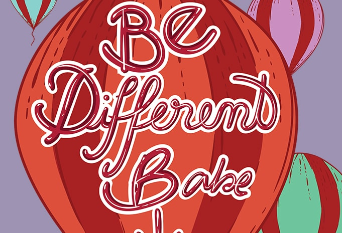 Be different babe buy t shirt design