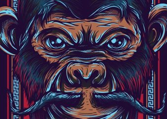 Royal Monkey buy t shirt design