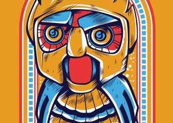 Owl Robot buy t shirt design
