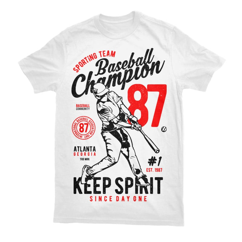 Baseball Champion Tshirt - Baseball Champion buy t shirt design