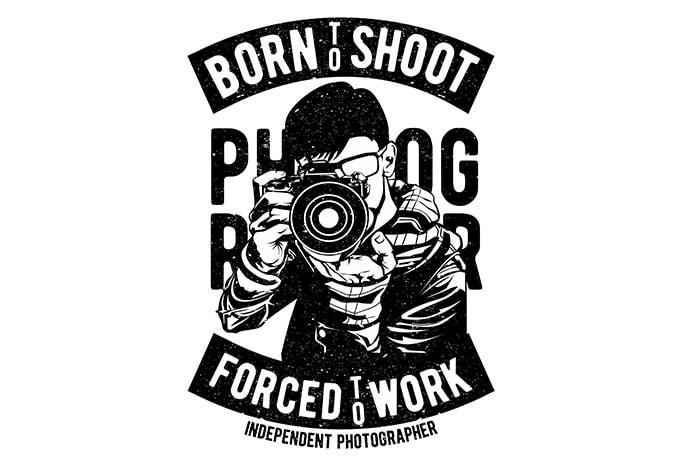 Born To Shoot t shirt design - Born To Shoot buy t shirt design