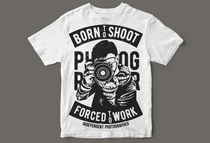 Born To Shoot buy t shirt design