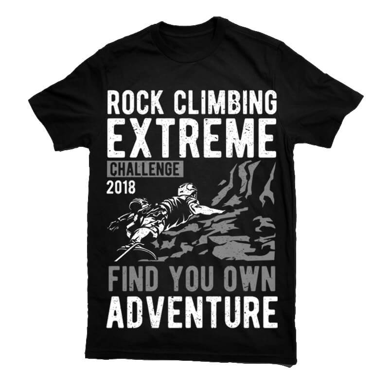 Rock Climbing Tshirt - Rock Climbing buy t shirt design