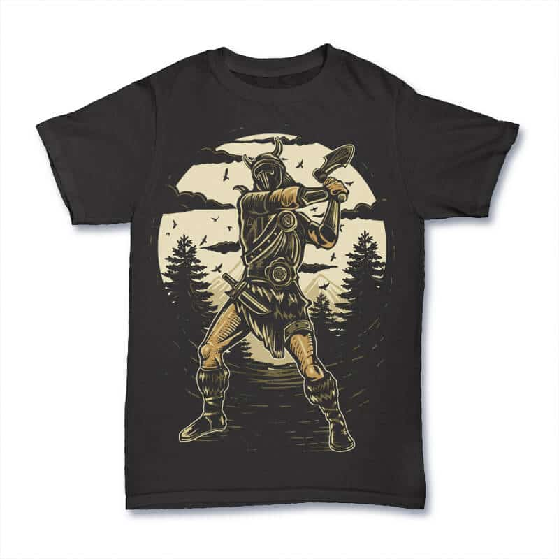 Viking T shirt Design buy t shirt design