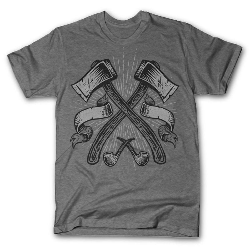 Axes T shirt design buy t shirt design