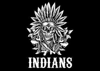 Native American T-Shirt Design buy t shirt design