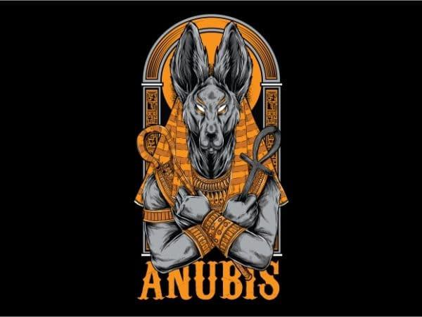 BTD 600x450 - Anubis T-Shirt Design buy t shirt design
