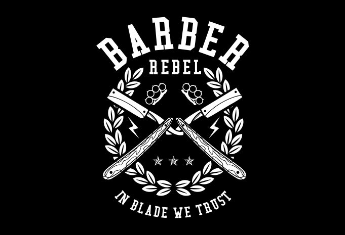 Barber Rebel Display - Barber Rebel buy t shirt design