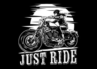 Biker Girl buy t shirt design