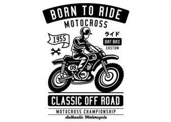 Born To Ride buy t shirt design