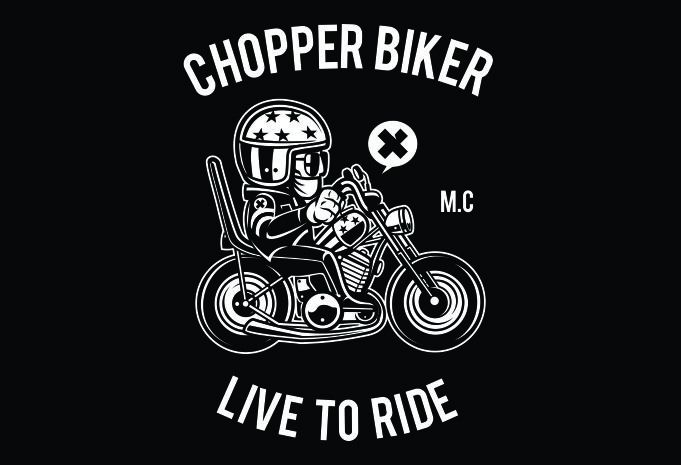 Chopper Biker Display - Chopper Biker buy t shirt design