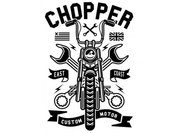 Chopper buy t shirt design