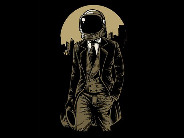 Classic Astronaut t shirt design buy t shirt design