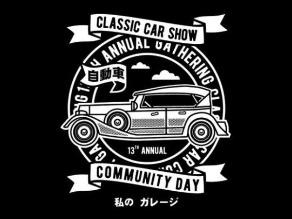 a3814baf8 Classic Car Show- Best T-shirt Design