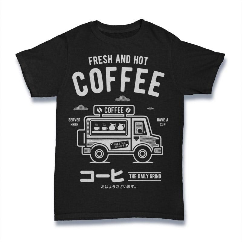 Coffee Van buy t shirt design