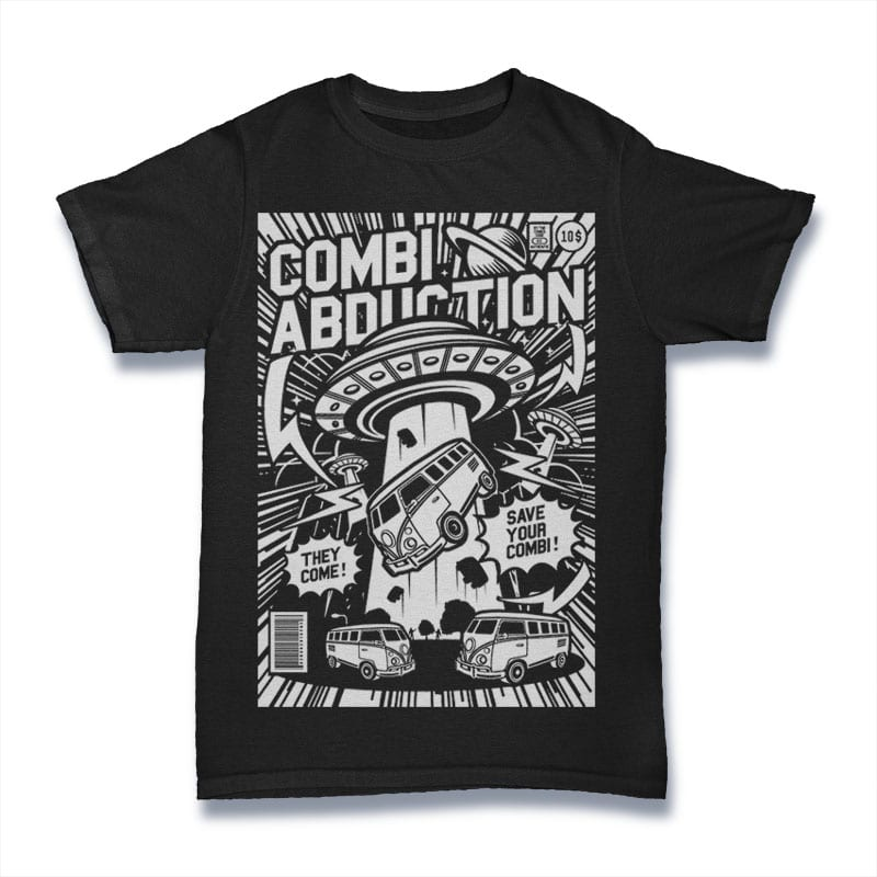 Combi Abduction buy t shirt design