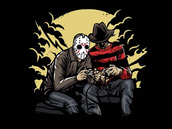 Dark Gamers t shirt design buy t shirt design