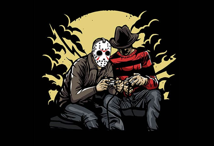 Dark Gamers t shirt design - Dark Gamers t shirt design buy t shirt design