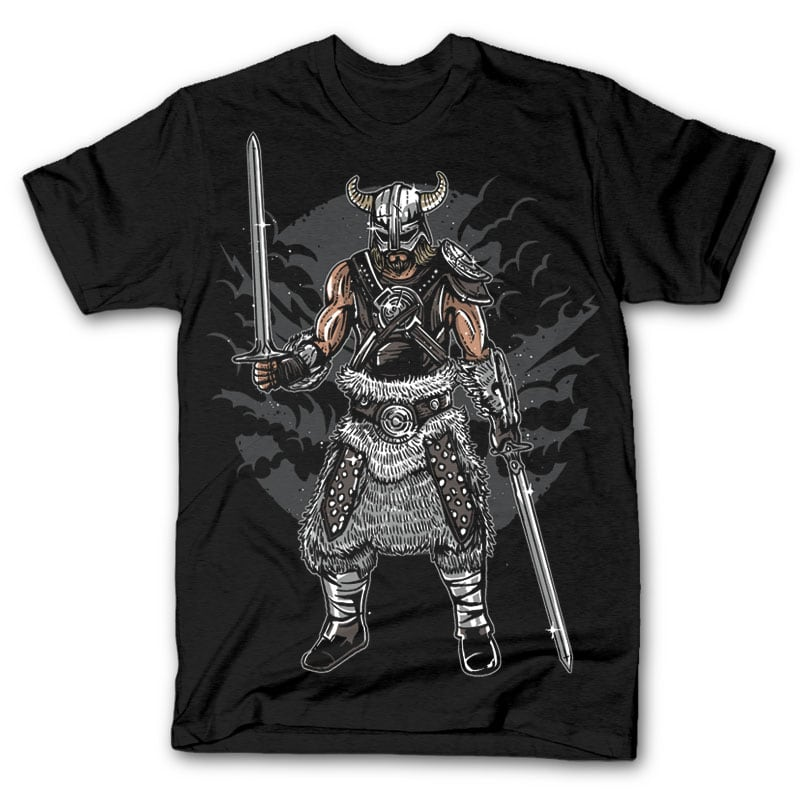 Dark Viking t shirt design buy t shirt design