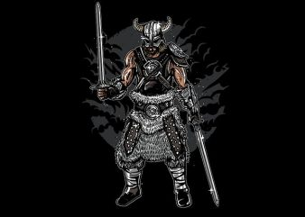 Dark Viking t shirt design