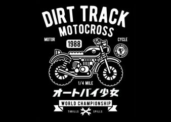 Dirt Track buy t shirt design
