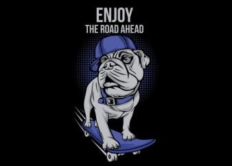 Dog Skates buy t shirt design