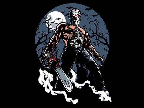 Evil Killer tshirt design buy t shirt design