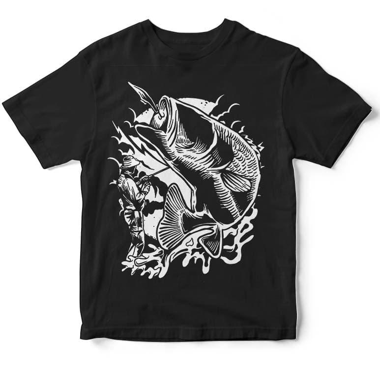 Fisherman tshirt design buy t shirt design