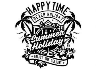 Happy Time buy t shirt design