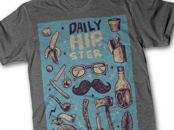 Hipster tshirt design buy t shirt design