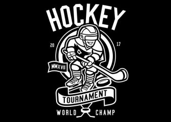 Hockey buy t shirt design