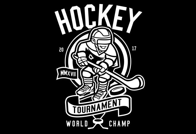 Hockey Display - Hockey buy t shirt design