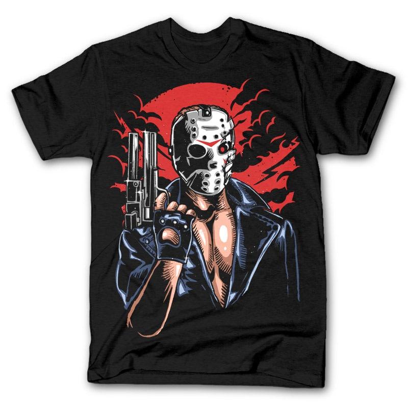Jason Will Be Back Tee shirt design 26565 - Jason Will Be Back tshirt design buy t shirt design