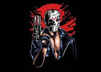 Jason Will Be Back tshirt design buy t shirt design