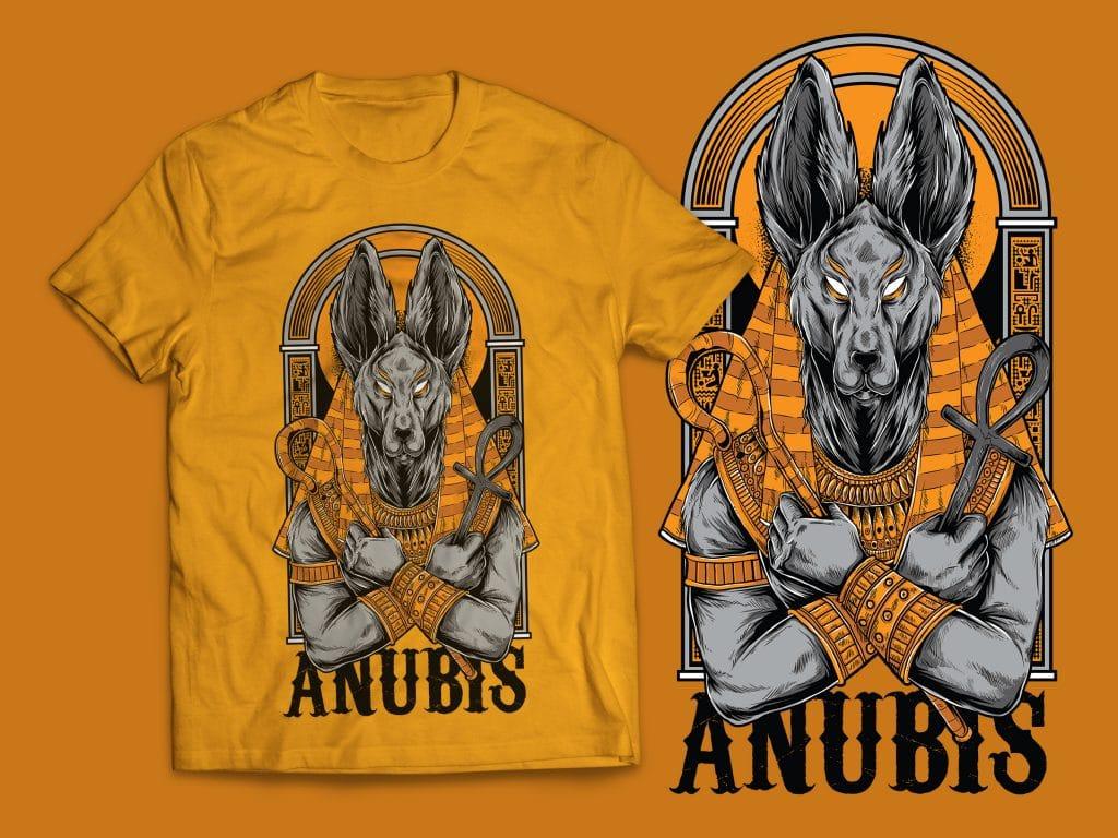 Anubis T-Shirt Design buy t shirt design