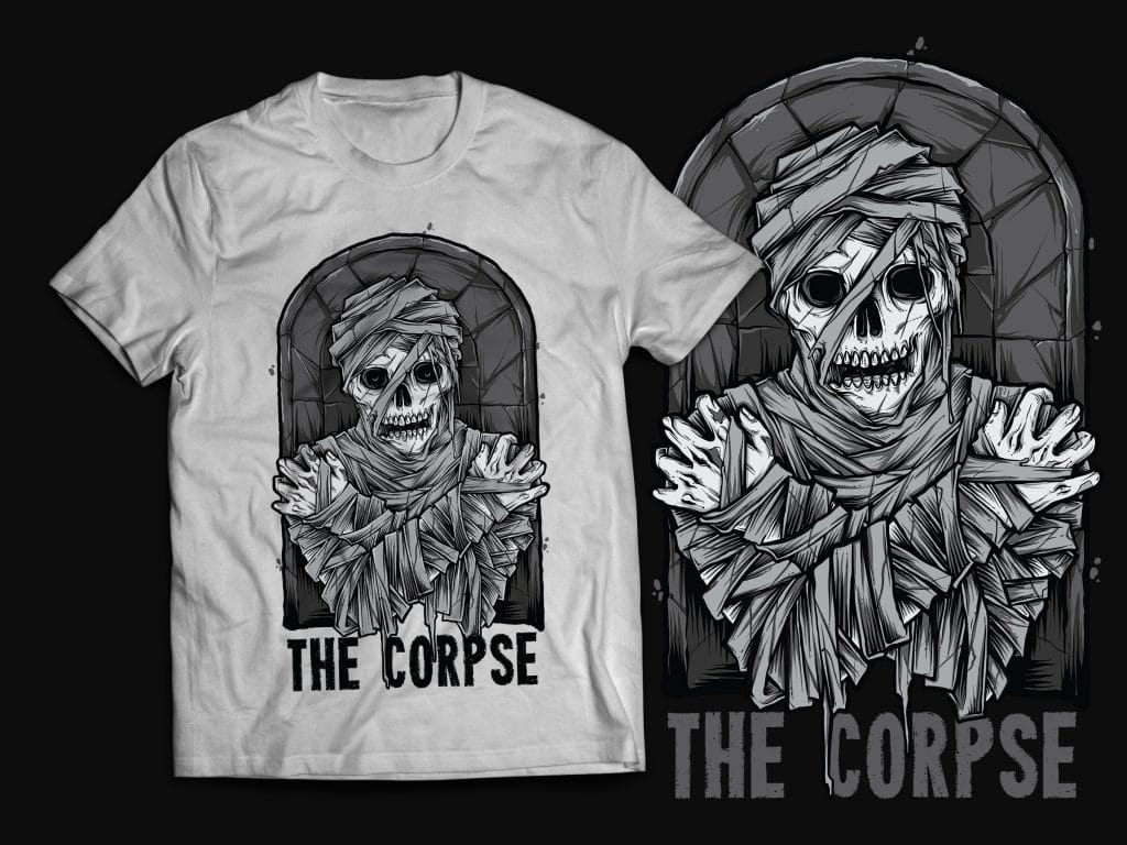 Mummy T-Shirt Design buy t shirt design
