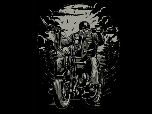 Live To Ride t shirt design