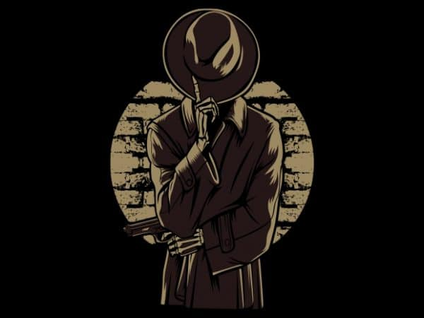 Mafia Skull V2 buy t shirt design