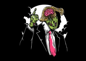 Make Zombie Great Again t shirt designs for sale