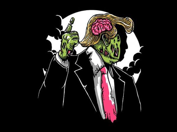 Make Zombie Great Again buy t shirt design