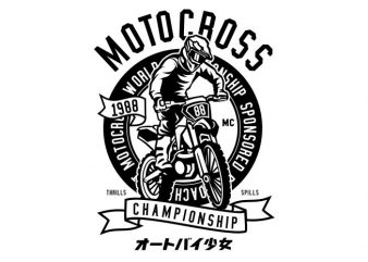 Moto Cross buy t shirt design