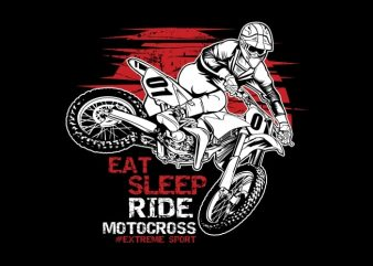 Motocross buy t shirt design