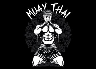 Muay Thai t shirt designs for sale