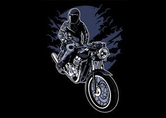 Night Rider t shirt design
