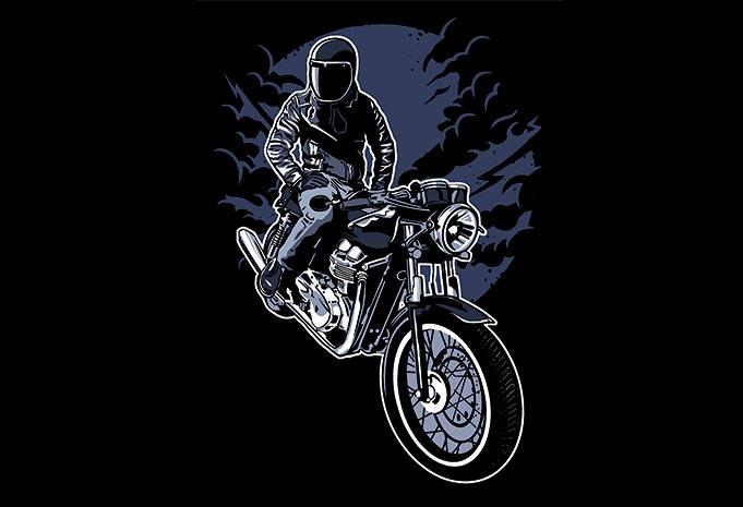 Night Rider buy tshirt design - Night Rider t shirt design buy t shirt design