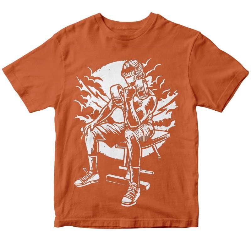 No Pain No Gain t shirt design buy t shirt design