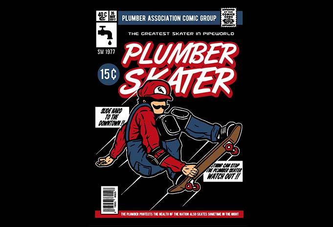 Plumber Skater buy tshirt design - Plumber Skater t shirt design buy t shirt design