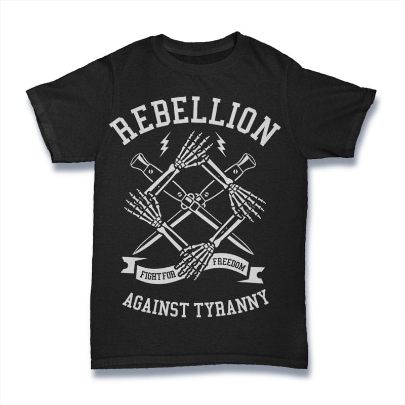 Rebellion buy t shirt design