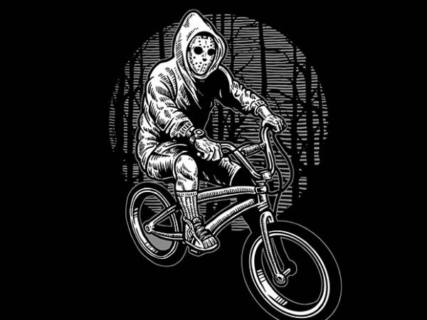 Ride Bike To Kill t shirt design buy t shirt design