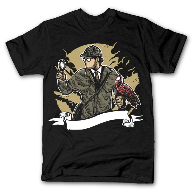 Sherlock Holmes t shirt design buy t shirt design